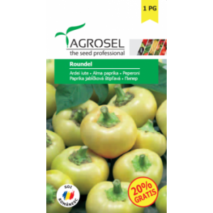 Seminte Ardei iute Roundel(0.5 gr) Agrosel