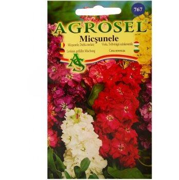 Seminte de flori Micsunele dublu Melanj Agrosel