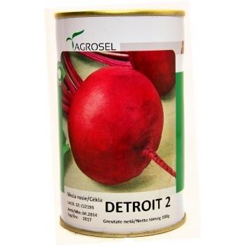 Seminte sfecla rosie Detroit 2(100 gr) Agrosel
